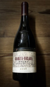 Flasche portugisischer Rotwein Rarität Barca Velha Douro 2008