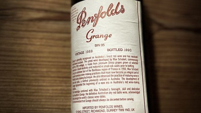 The Grange – Icon wine from down under