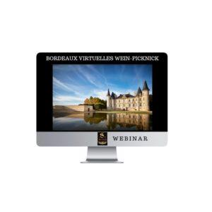 Bordeaux virtuelles Wein-Picknick