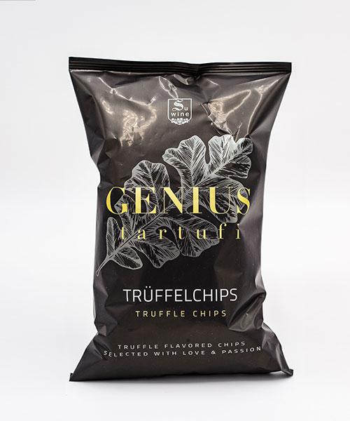Packung GENIUS tartufi Trüffelchips